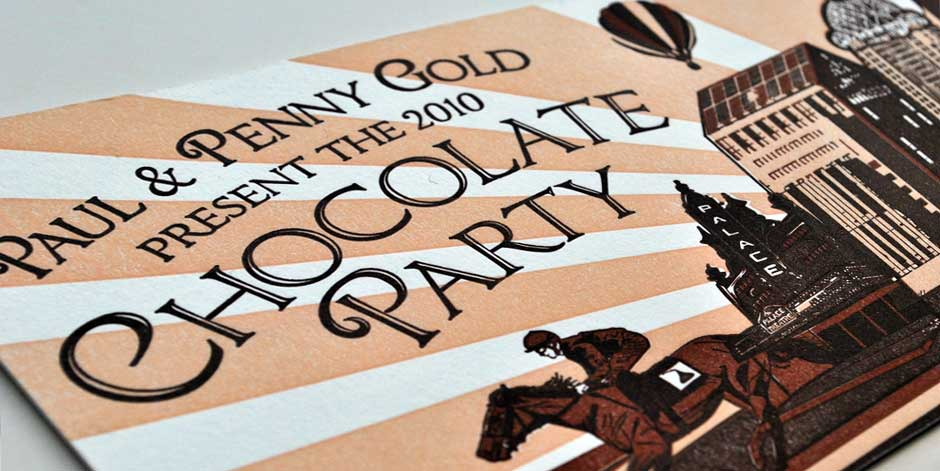 Chocolate Party Invitation 2010 2