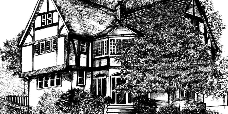Illustration House Drawing 3