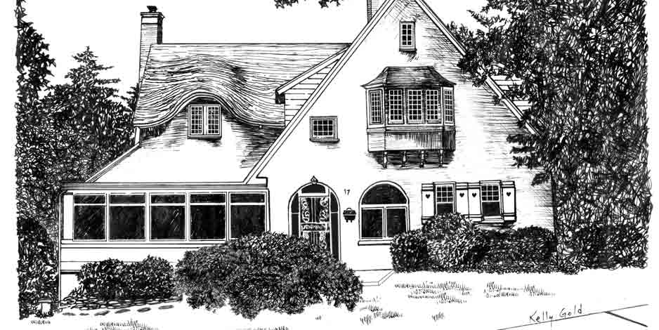 Illustration House Drawing 5