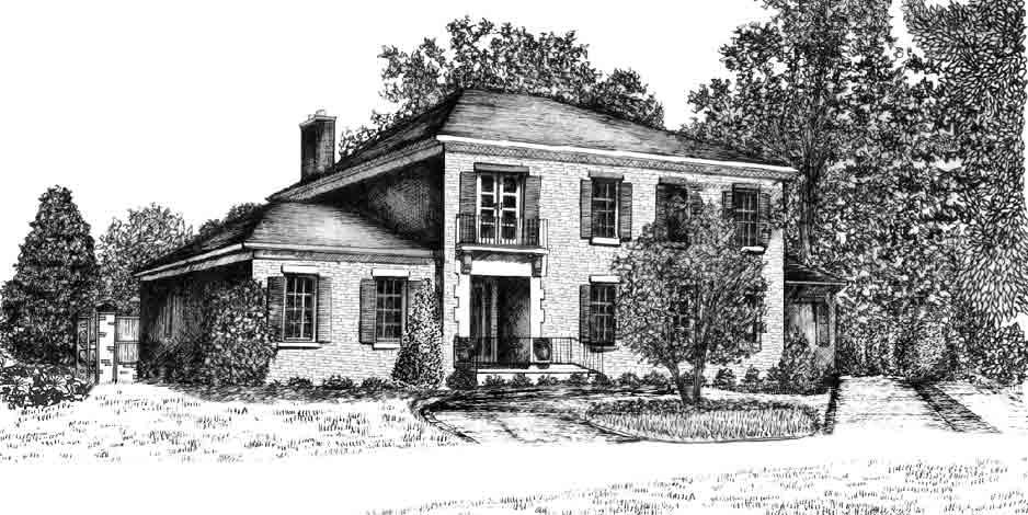 Illustration House Drawing 6