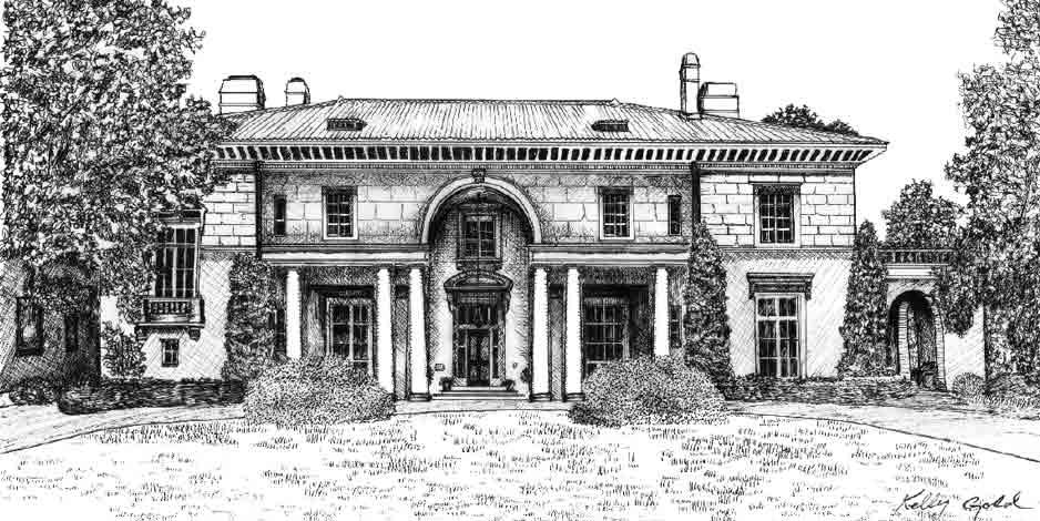Illustration House Drawing 8