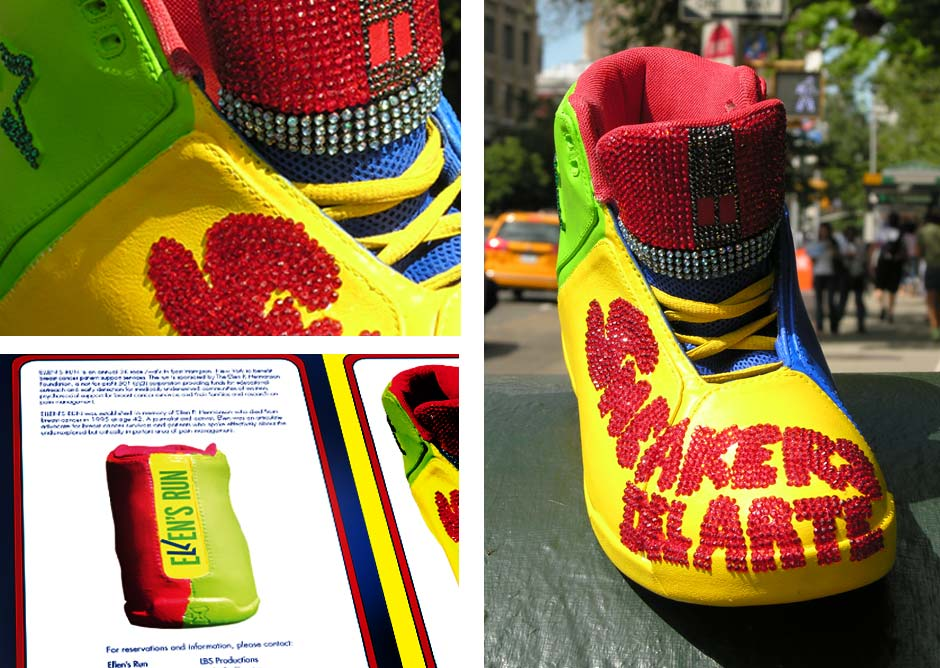 Sneakers del Arte, Shoes for charity