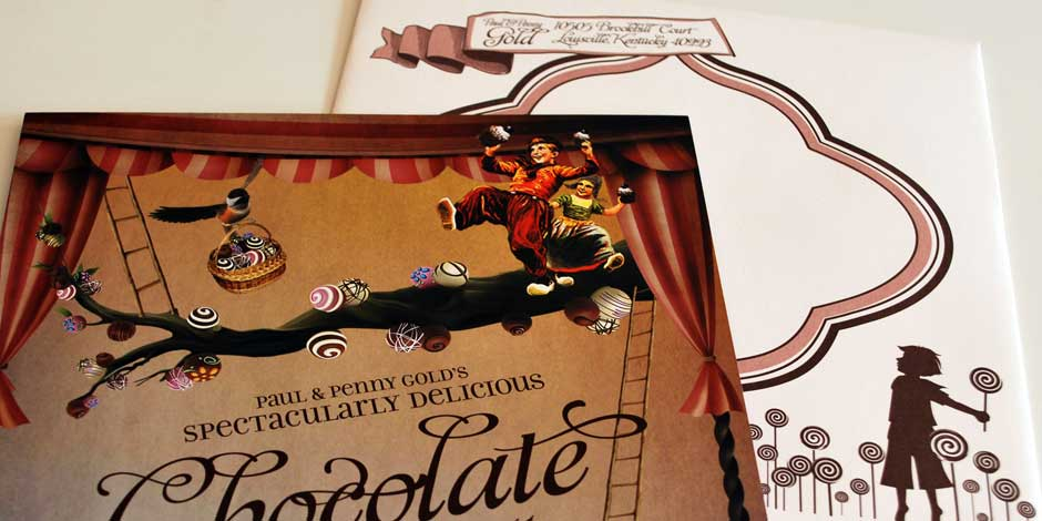 Chocolate Party 2011 Envelope and Detail