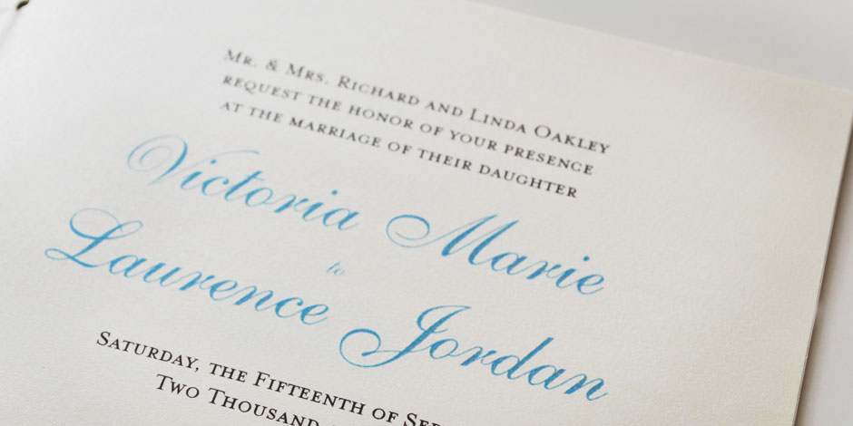 Destination Wedding Invitation Type Detail