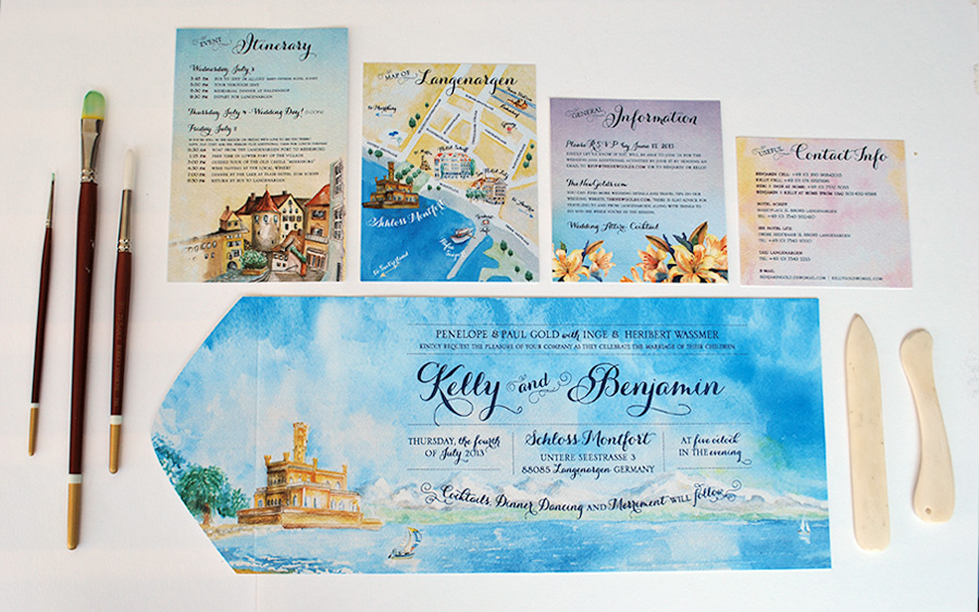Design Invitation as luxury invitations design