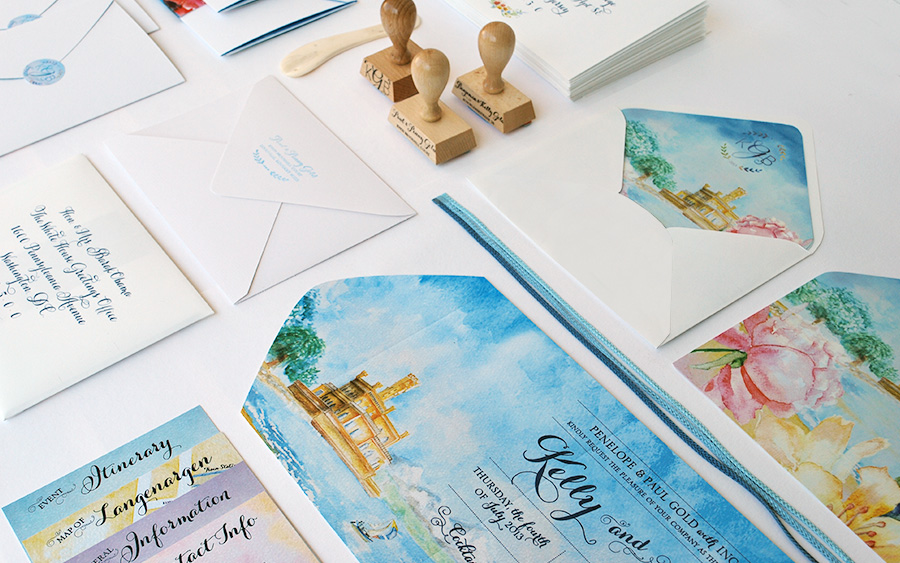 9-Internation-Wedding-Invitation-Watercolor