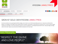 Website: KYOCERA Environmental Technology Contest
