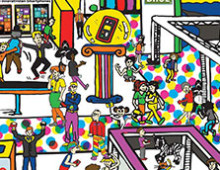Nokia – Find The Gorilla Illustration