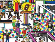 Nokia – Find The Gorilla Illustration